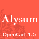 Alysum - Premium OpenCart Theme with Extras