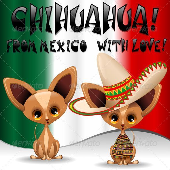 GraphicRiver Chihuahua Puppy Dog Cartoon from Mexico 5403281