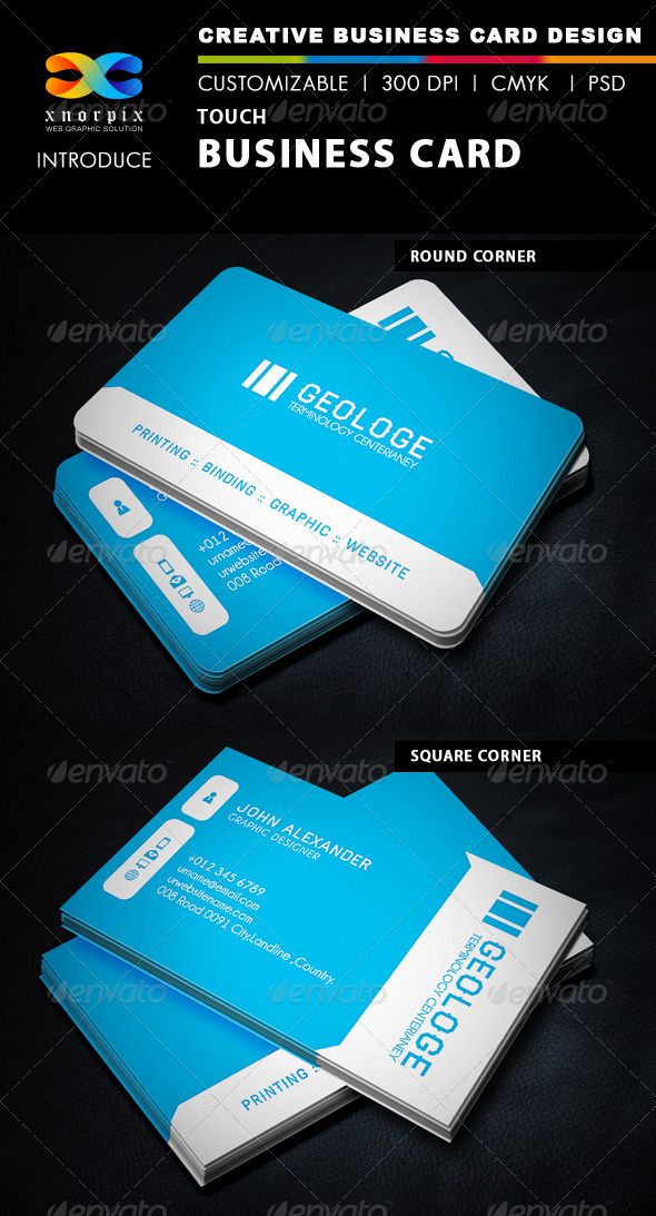 GraphicRiver Speed Business Card 5403502
