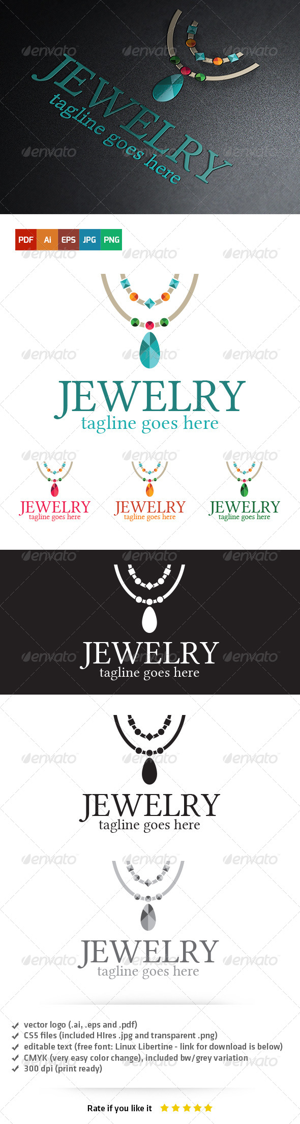 GraphicRiver Jewelry Logo 5403783