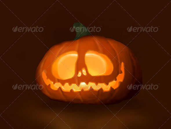 GraphicRiver Halloween Pumpkin 4126687