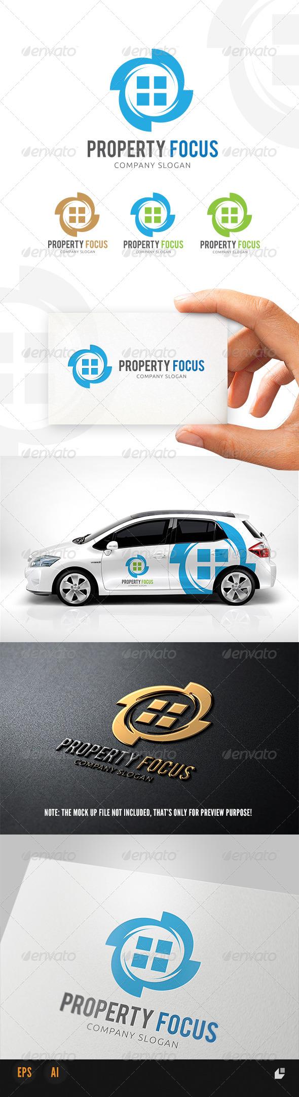 GraphicRiver Property Focus Logo 5403845
