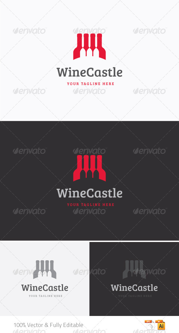 GraphicRiver Wine Logo 5404275