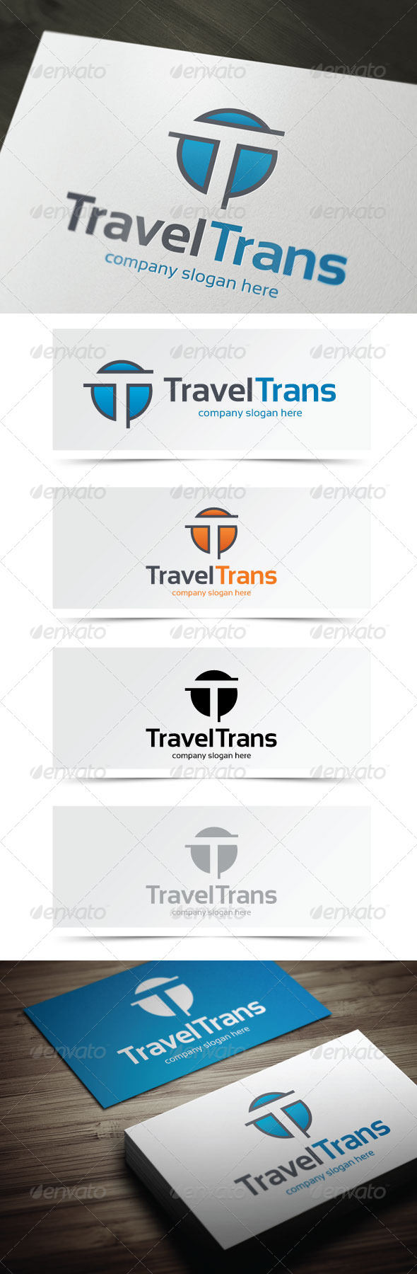 GraphicRiver Travel Trans 5404391
