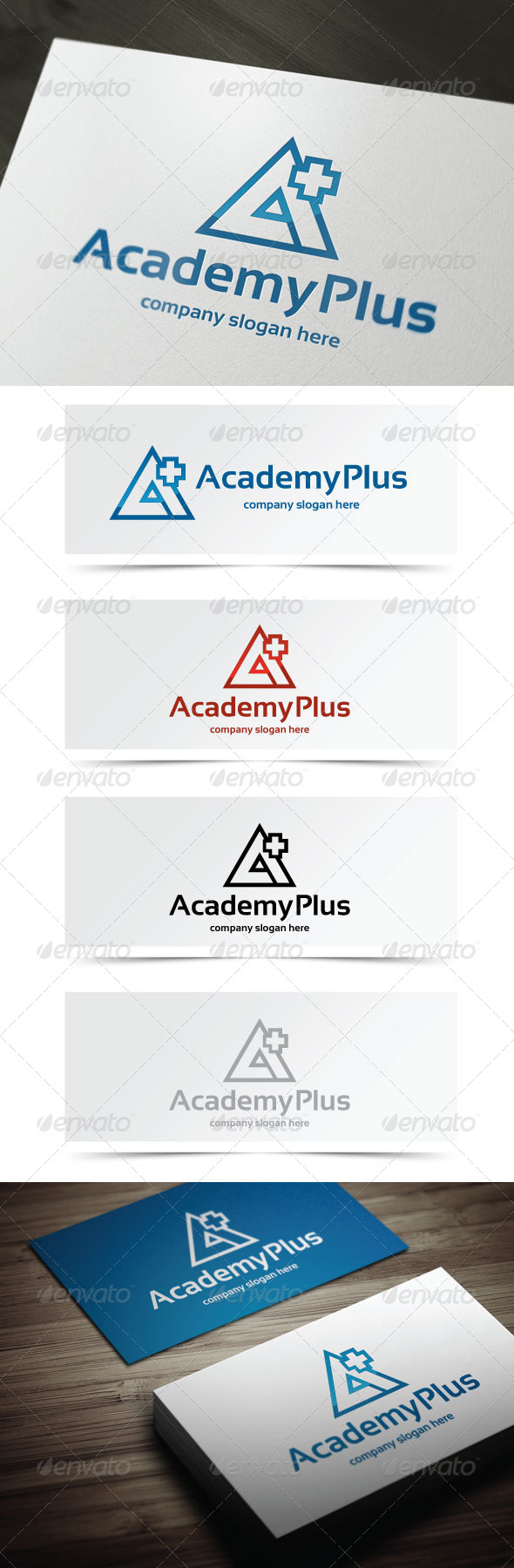 GraphicRiver Academy Plus 5404401