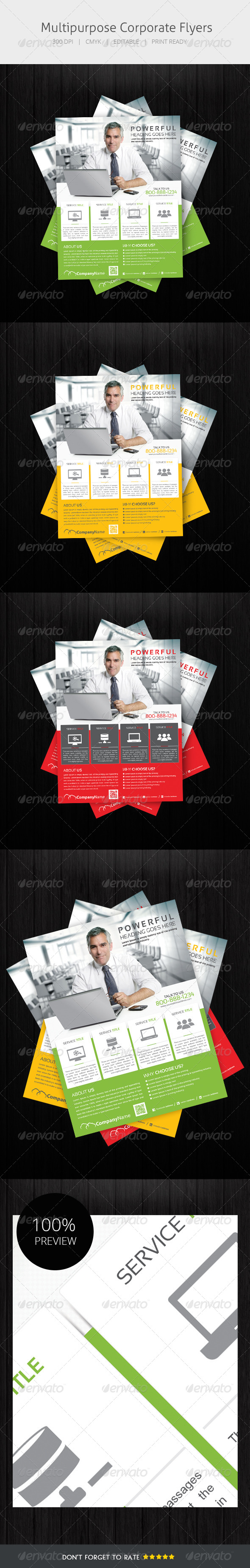 GraphicRiver Multipurpose Flyer 5404682