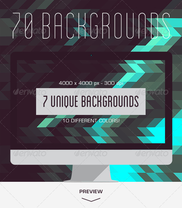 GraphicRiver 70 Geometric Backgrounds 5405144