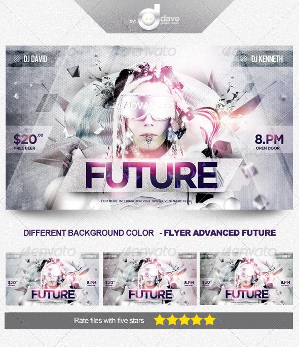 GraphicRiver Flyer Advanced Future 5405754