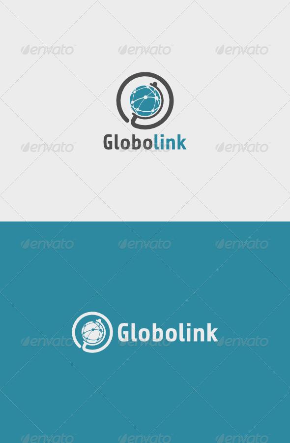 GraphicRiver Globo Link Logo 5405905