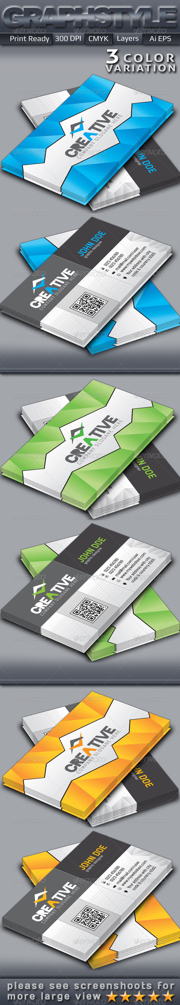 GraphicRiver Creative Business Cards 2 5405907