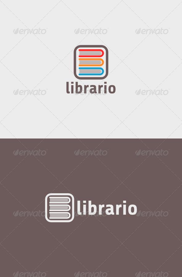 GraphicRiver Librario Logo 5405978