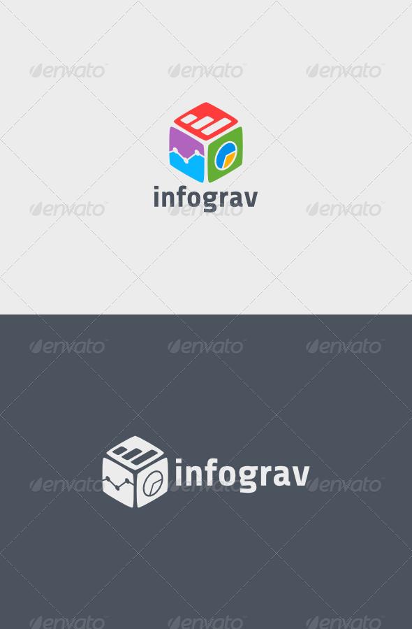 GraphicRiver Infograv Logo 5406070