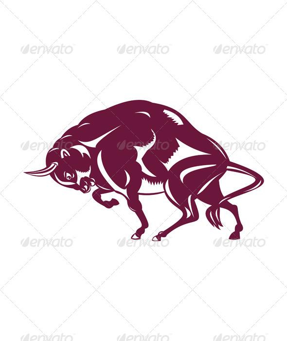 GraphicRiver Bison Retro Style 5406269