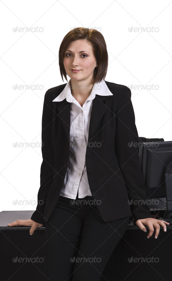 Portrait of a Businesswoman - Stock Photo - Images