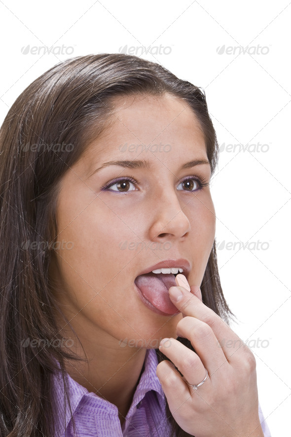 Taking Pills  - Stock Photo - Images