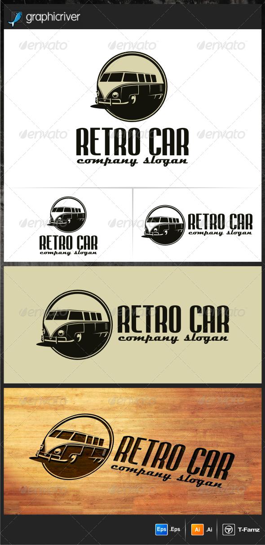GraphicRiver Retro Car Logo Templates 5406812