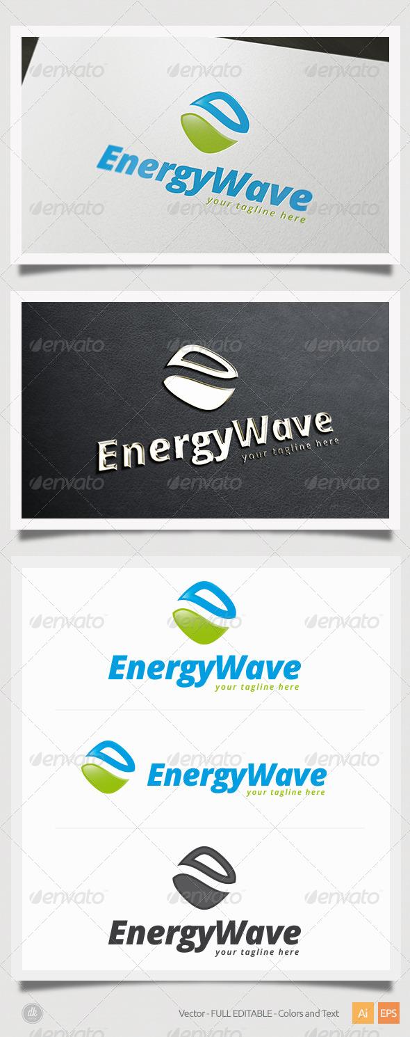 GraphicRiver Energy Wave Logo 5407238