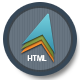 Link toModern theme: responsive html template