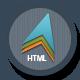 Link toModern theme: responsive html template