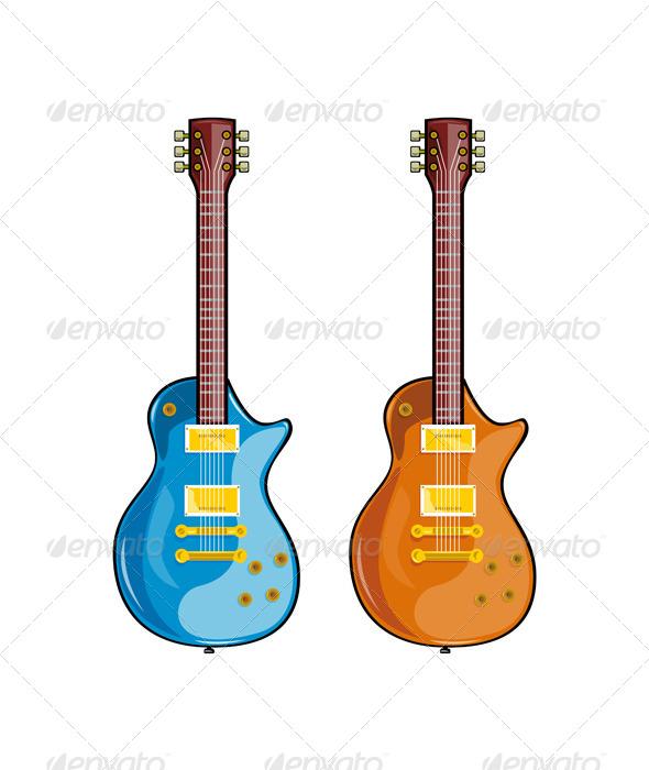 GraphicRiver Blues Guitar 5407290