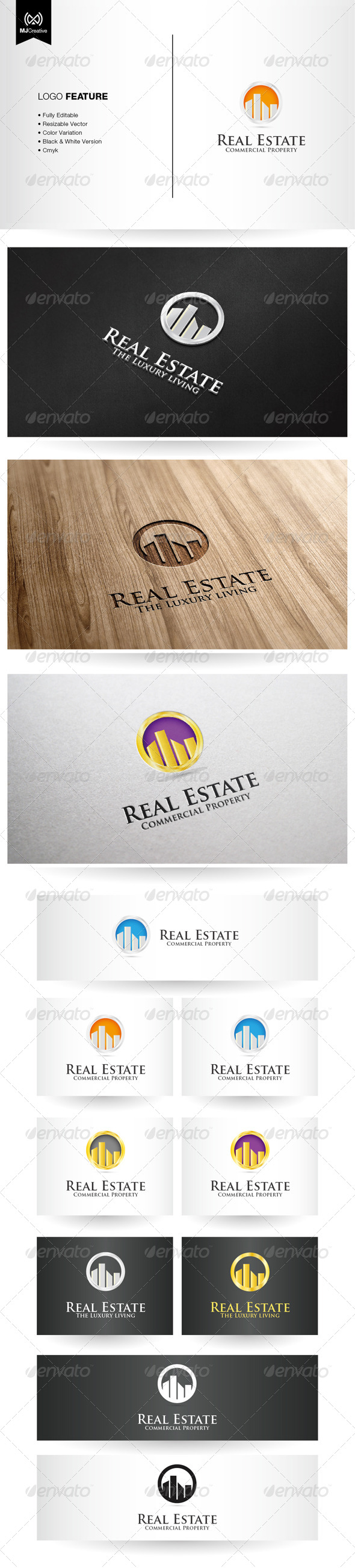 GraphicRiver Commercial Real Estate Logo 5407368