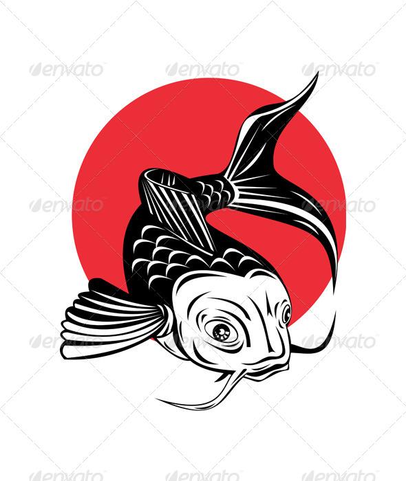 GraphicRiver Koi Carp Fish Jumping 5407417