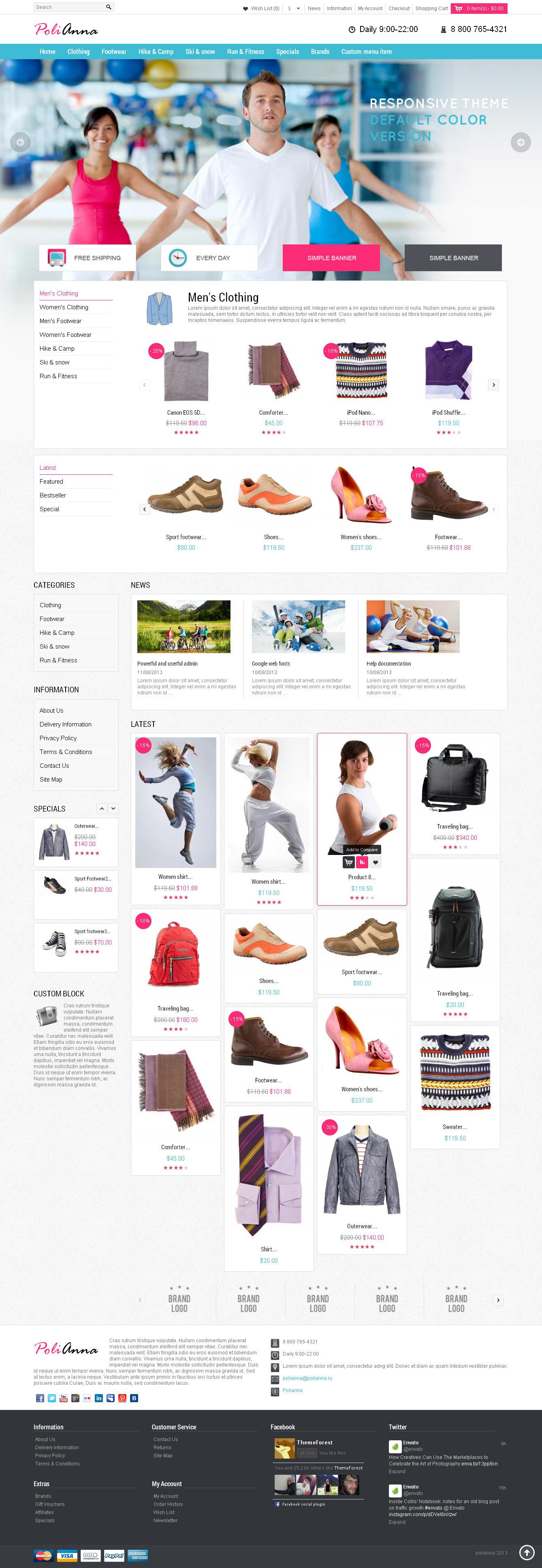 Polianna – Responsive OpenCart Theme