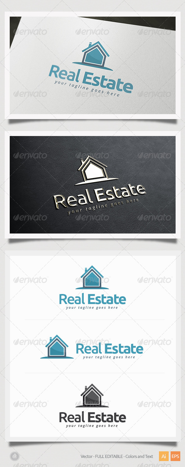 GraphicRiver Real Estate Logo 5407755
