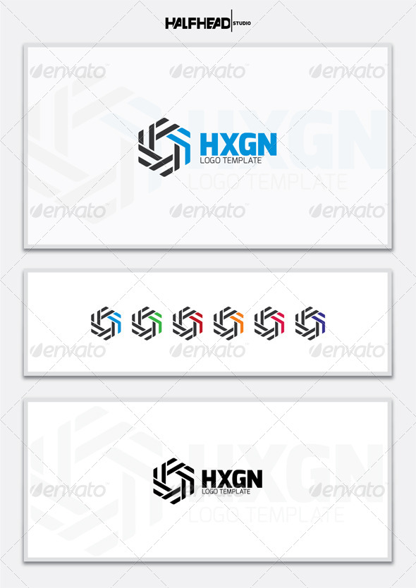 GraphicRiver HXGN Logo Template 5407992