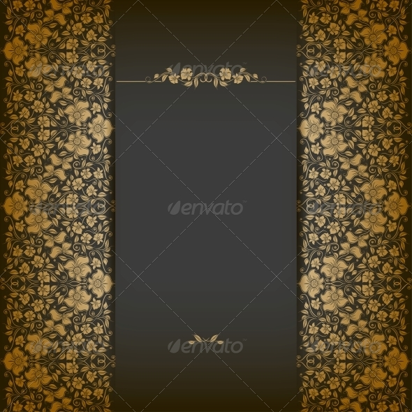 GraphicRiver Elegant Background with Lace Ornament 5408185