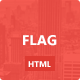 Flag: Clean and Modern Template - ThemeForest Item for Sale