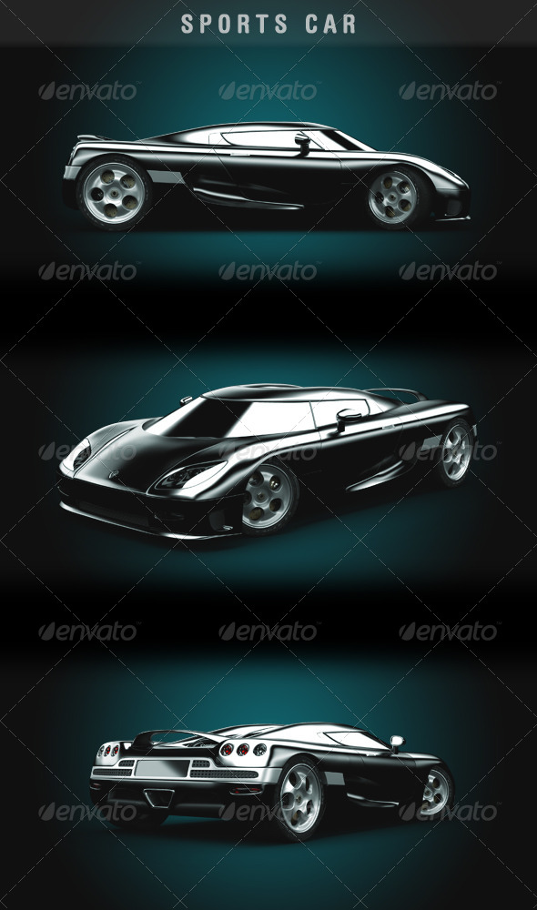 GraphicRiver Sports Car 5408226