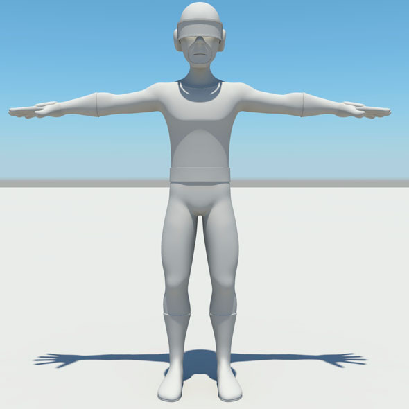 3DOcean 3D cartoon character 5408932