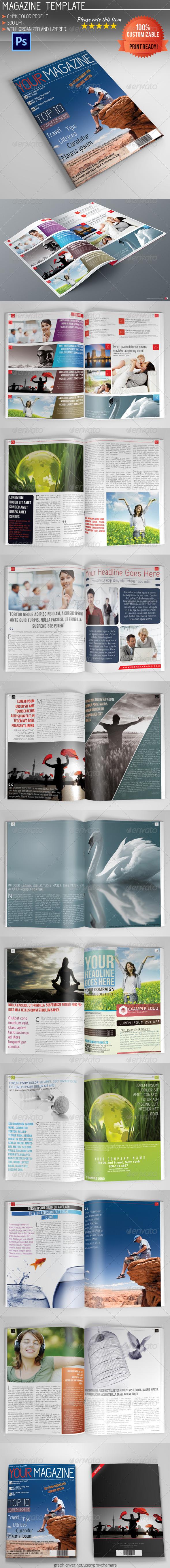 GraphicRiver Magazine Template Vol.4 5409001