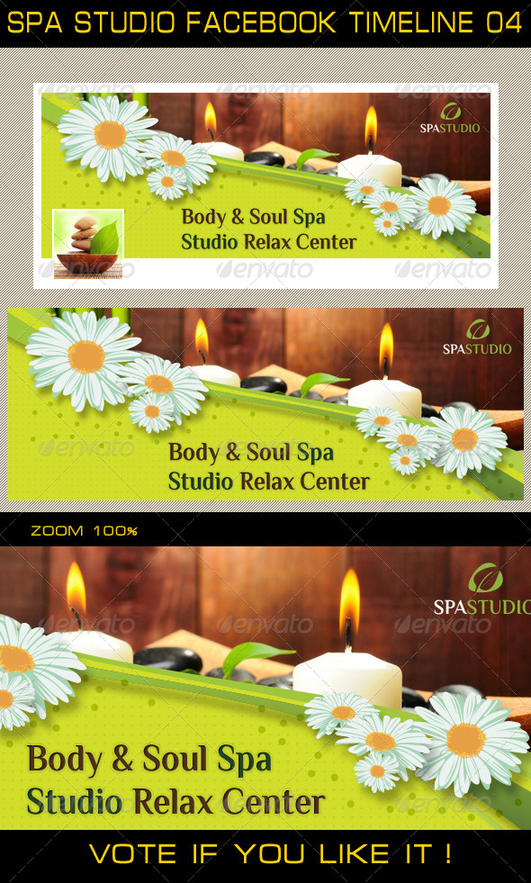 GraphicRiver Spa Studio Facebook Timeline 04 5409016