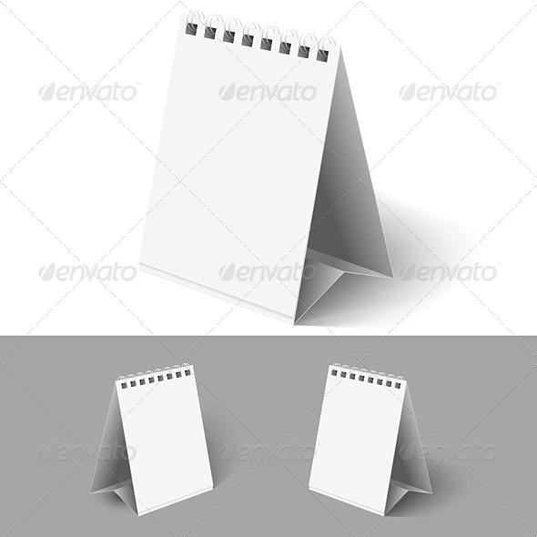 Blank Flip Calendars