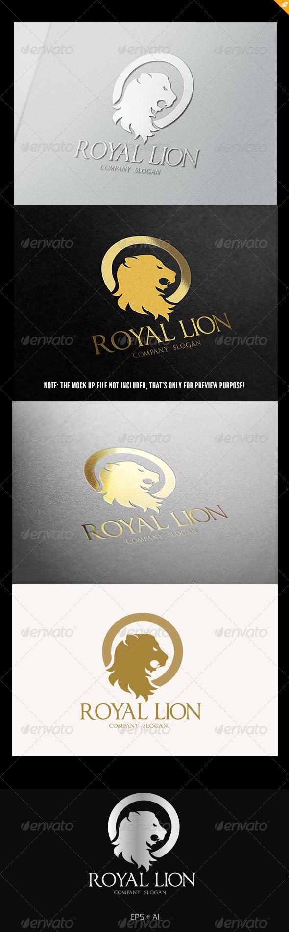 GraphicRiver Royal Lion Logo 5409327
