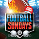 Football Sundays Flyer Template - GraphicRiver Item for Sale