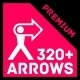 320+ Arrows and Arrow Signs Collection - GraphicRiver Item for Sale