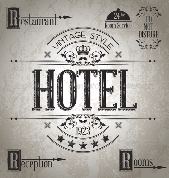 GraphicRiver Hotel Sign 5410197