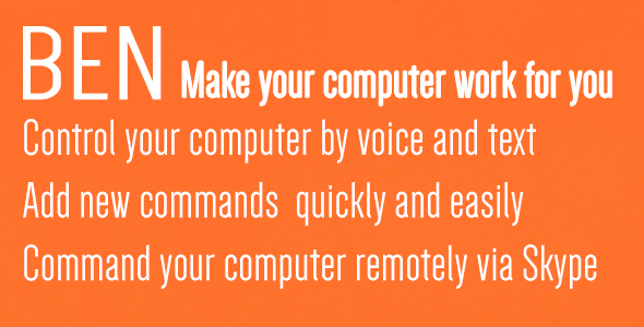 CodeCanyon Ben Make your computer work for you 5410680