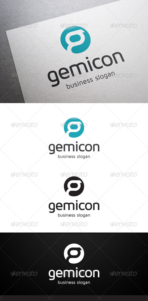 Gemicon G Letter Logo - Letters Logo Templates