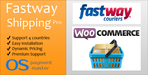 CodeCanyon Fastway Shipping Pro by ospayment.com 5410892
