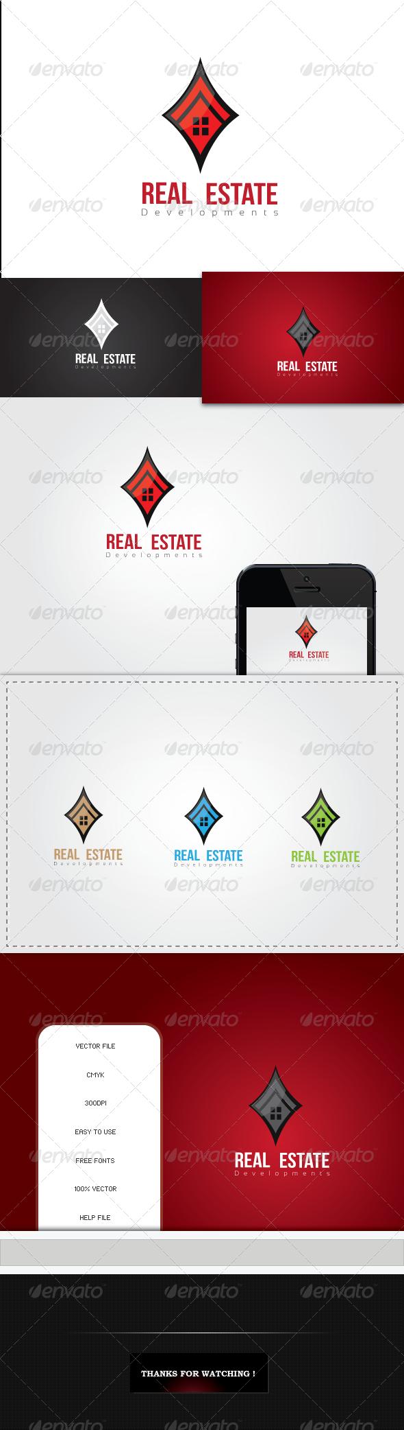 GraphicRiver Real Estate Logo Template 5411070