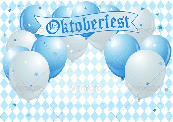 GraphicRiver Oktoberfest Celebration Balloons 5411524