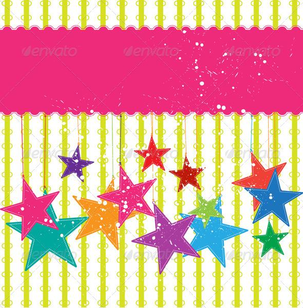 GraphicRiver Festival Star Background 5411578