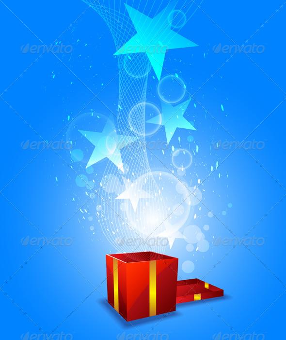 GraphicRiver Magic from Giftbox 5411594