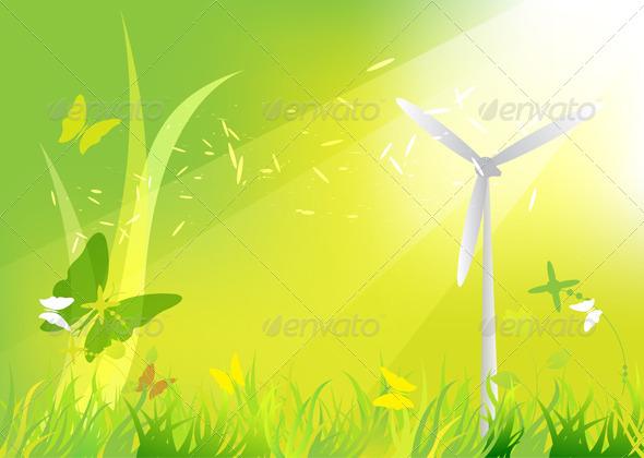 GraphicRiver Nature Landscape 5411600