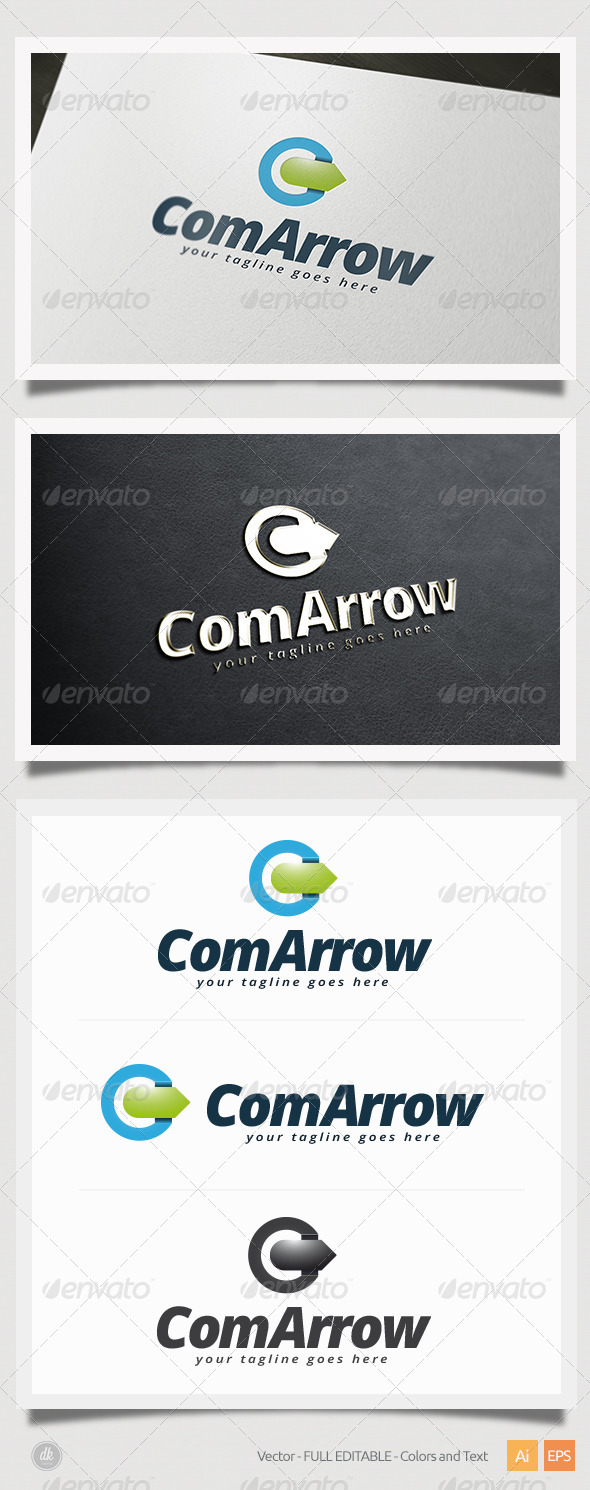 GraphicRiver Com Arrow Logo 5412141