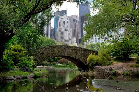 Stock Photo - PhotoDune Central Park view 558376